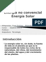 Energia Convencial Solar