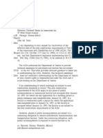 US Department of Justice Civil Rights Division - Letter - tal045