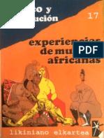 Trafico y prostitución; experiencias de mujeres africanas.