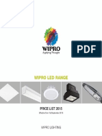 Wipro LED Range Price List 2015