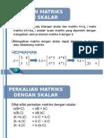 Bahan Pertemuan 6-14 (Matriks)