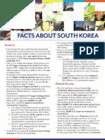 About South Korea April 2016