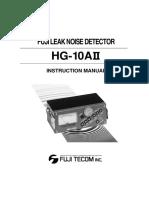 Fuji Manual HG10