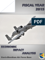 Davis-Monthan Economic Impact Analysis for 2015