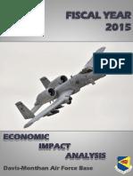 Davis-Monthan Economic Impact Analysis for 2015