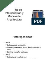Clase 3 Concepto de Interconexion y Modelo de Arquitectura