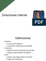 Clase 4.0.2 Direcciones Internet