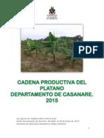 Documento Linea Base Platano 2015