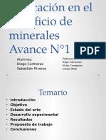 beneficio de minerales