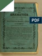 Rosales, F., Gramática Teórico-práctica de La Lengua Mexicana