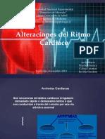 ALTERACIONES DEL CICLO CARDIACO