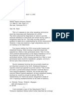 US Department of Justice Civil Rights Division - Letter - tal056