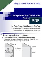 08 Tata Letak Dan Komponen Sistem Drainase