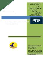 Especificacion Puente Bayle