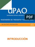 Ingeniería Transporte, Tránsito y Factores