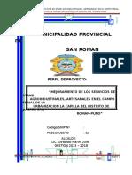 Pip Campo rivereña Ferial
