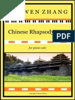 Chinese Rhapsody No 1 - Full Score
