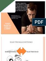 REPORTE SIMULACIÓN DE FUERZA MAGNÉTICA SOBRE UN ALAMBRE