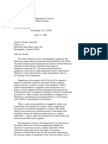US Department of Justice Civil Rights Division - Letter - tal060