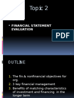 Topic 2-Financial Statement