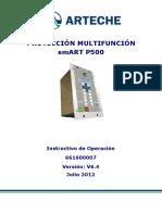 Manual de Usuario SmART P500