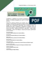 Diagnóstico y Propuesta Ciudadana - CVRevPat