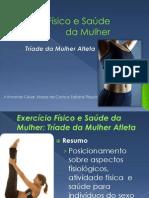 Exercício físico e a saúde da mulher_Tríade da mulher atleta