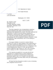 US Department of Justice Civil Rights Division - Letter - tal062