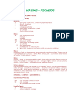 Receitas Recheio e Massas Hayrley - Volume 01