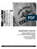 Technical Book (1) of Tarung Derajat