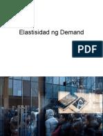 Elastisidad Ng Demand