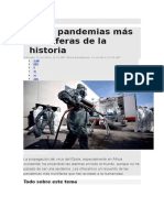 Las 10 Pandemias Mas Mortiferas de La Historia