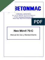 MANUAL MECANICO-ELECTRICO - Neo Móvil 70 con Dist. Rot. - YURA S.A. - Pe....pdf
