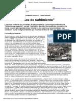 """Página_12 __ Psicología __ """"Nuevos Estilos de Sufrimiento"""""""