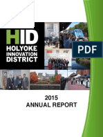 Holyoke Innovation District 2015 annual report: