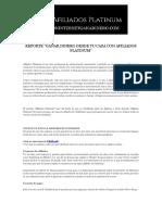 Reporte Gratuito Afiliados Platinum gana dinero por Internet