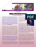 Enjoy Abundant Peace - Rejoice Ministriesnewsletter_june_2014