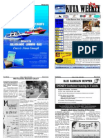 "Kuta Weekly-Edition 180 ""Bali""s Premier Weekly Newspaper"""