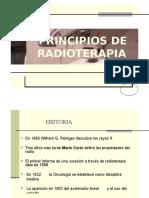 Oncología - Principios de La Radioterapia