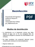 Clase 9.- Desinfección