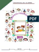 Carpeta Pedagógica - Inicial 2014