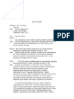 US Department of Justice Civil Rights Division - Letter - tal070