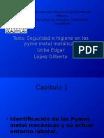 seguridad e higiene en las pymes metalmecanicas