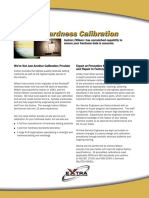 Hardness Calibration Brochure