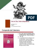 DIAPOSITIVAS DEL CREO EN DIOS PADRE (DOCTRINA SOCIAL DE LA IGLESIA)