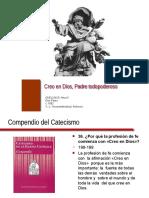CREO EN DIOS PADRE, DIAPOSITIVAS DOCTRINA SOCIAL DE LA IGLESIA