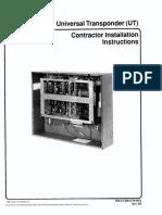 UT Contractor Installation