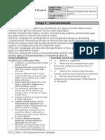 unit human machine assessment plan