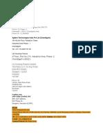 Address of Companies