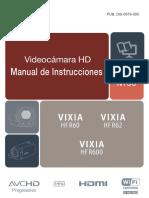 Vixia r600 Manual